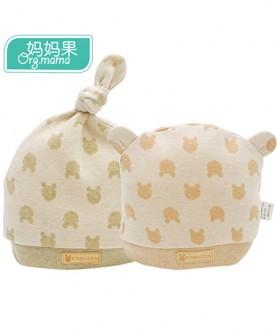 果男女宝宝婴儿帽