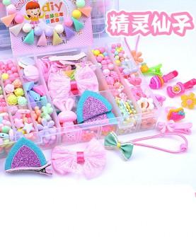 儿童串珠玩具diy手工穿穿珠
