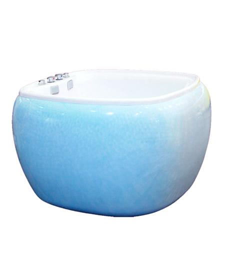 婴泳少飞婴泳少飞婴儿游泳池G型(白云蓝)代理,样品编号:59297