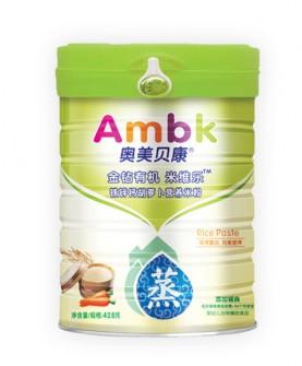 428克铁锌钙胡萝卜营养米粉