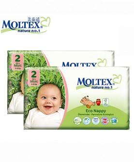 婴儿超薄舒适生态纸尿裤2号42片