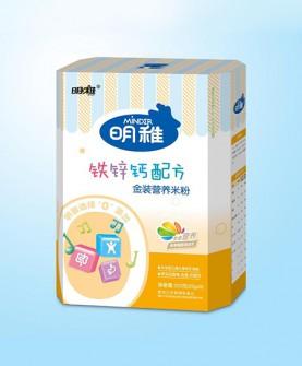 钙锌铁配方金装营养米粉225g