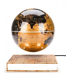 圆座悬浮地球仪