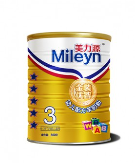 金装优智羊奶粉800克3段
