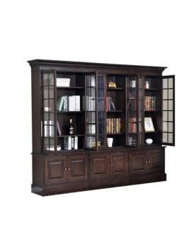 复古储物书柜