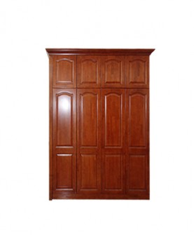 复古实木衣柜