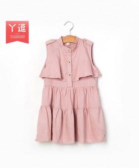 韩版儿童无袖连衣裙