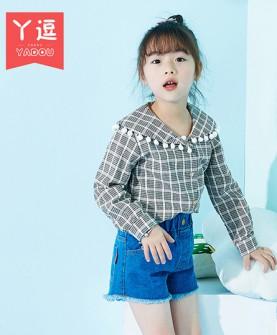 女儿童衬衫