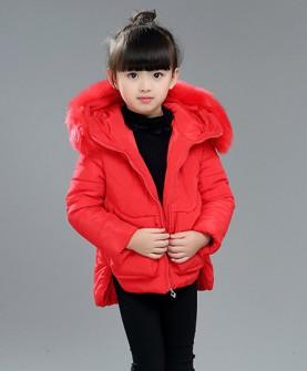 女童新款韩版冬装棉袄