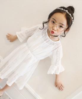 女童夏装连衣裙