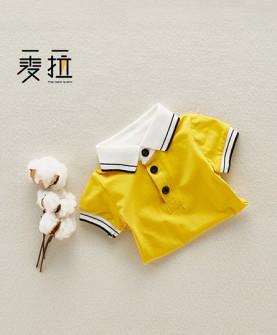 婴儿连体衣短袖