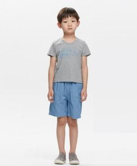 男童时尚清新套装