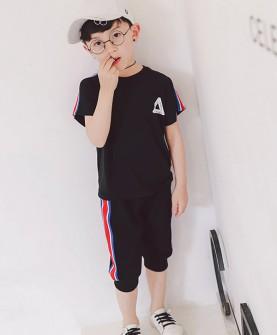 男童简约套装