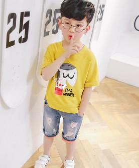 儿童简约时尚T恤