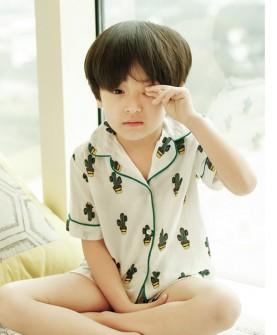 儿童时尚短袖