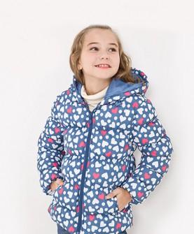 春冬童装女童棉衣