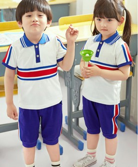儿童校服男女童短袖