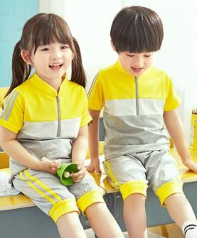 男女小学生运动班服套装