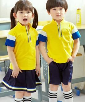 夏款运动服儿童班服套装