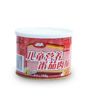 儿童营养番茄肉酥