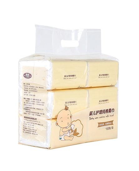 良良記憶枕嬰兒棉柔巾代理,樣品編號:61032