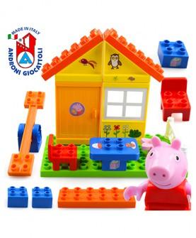小猪佩奇积木玩具