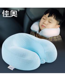 记忆棉儿童u型枕幼儿园宝宝枕头小孩汽车旅行护颈枕3-6岁睡枕