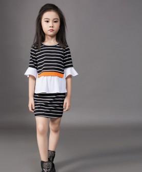 2017新款时尚气质女童装