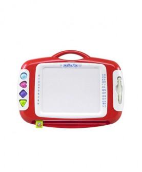 儿童玩具 涂鸦磁性画板微章图案绘画学习彩色写字板