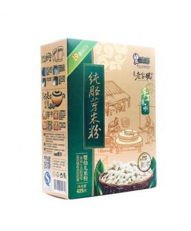 纯胚芽钙铁锌婴幼儿米粉425g蒸米糊磨制宝宝辅食1段2-3段