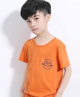 简约男童t恤
