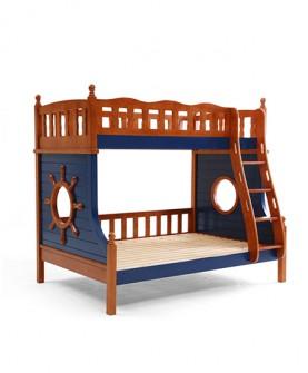 实木环保儿童高低床