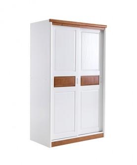 简约实木环保儿童衣柜