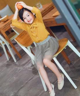 2017新款夏季韩版黑色儿童小皮鞋