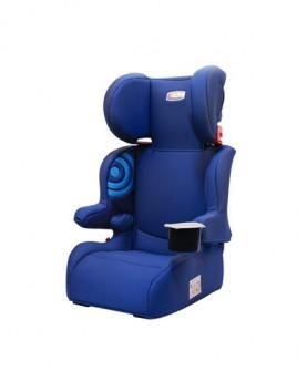 猫头鹰专利折叠便携3-12岁罗恩儿童安全座椅汽车宝宝儿童安全座椅可配iso接口 经典蓝