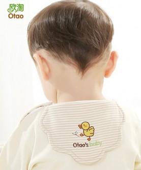 儿童吸汗巾纯棉婴儿垫背巾