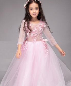 儿童礼服公主裙花童