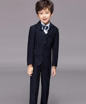 儿童西装五件套装男童礼服