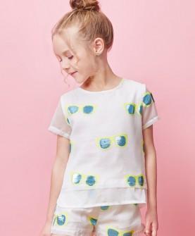 童装女童夏季套装短袖