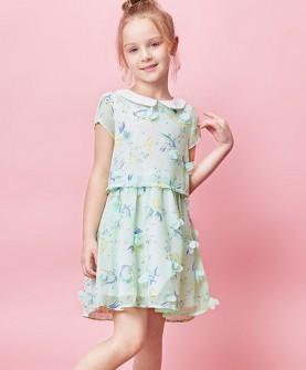 儿童连衣裙女童夏装短袖