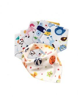 全棉双层三角巾6条