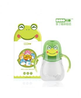 嗨皮派奶瓶&水杯/小青蛙