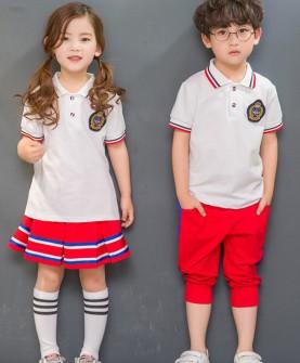 幼儿园园服夏装新款中小学生