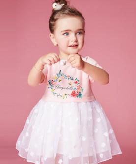 女童连衣裙短袖