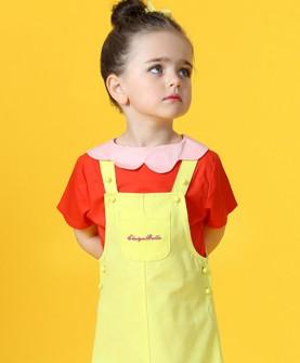 童装女童连衣裙背带裙