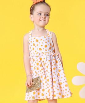 童装女童连衣裙吊带裙