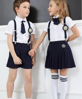 幼儿园园服夏装教师园服