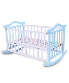 环保油漆婴儿床实木多功能婴儿摇篮床宝宝摇床摇窝新生儿床