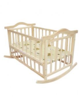 婴儿摇篮床婴儿床实木