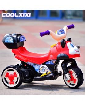 儿童电动车摩托车三轮车宝宝幼儿电动汽车甲壳虫儿童玩具车可坐人